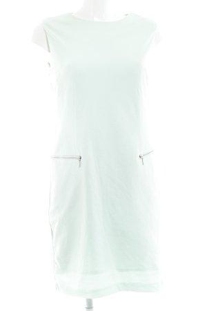 Vila A-Linien Kleid blassgrün Webmuster Casual-Look