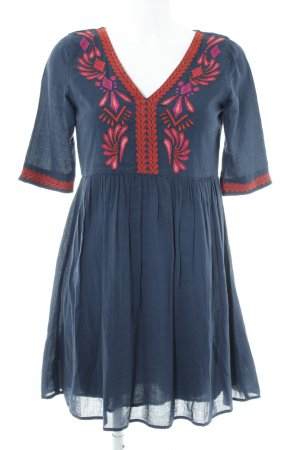 Vila A Line Dress dark blue casual look