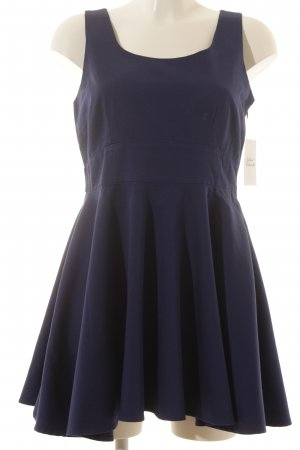 Vila A-Linien Kleid dunkelblau Casual-Look