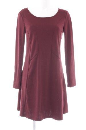 Vila A-Linien Kleid karminrot Casual-Look