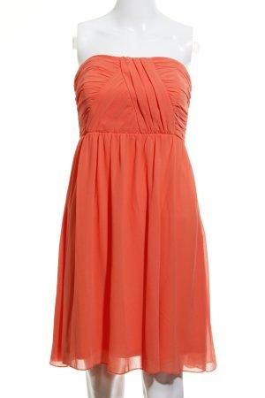 Vila A-Linien Kleid neonorange Elegant