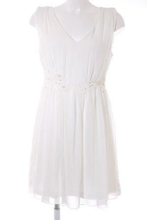 Vila A-Linien Kleid weiß Elegant