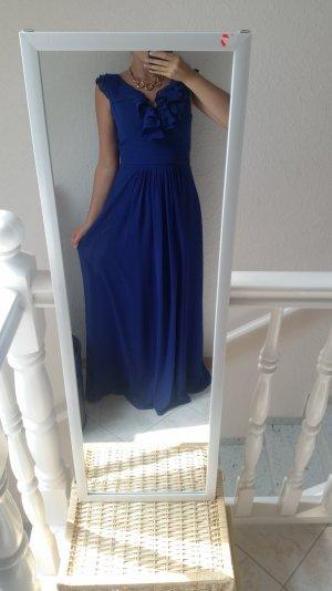 Vila Abendkleid 36 blau