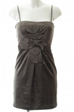 Vila Abendkleid graubraun Elegant