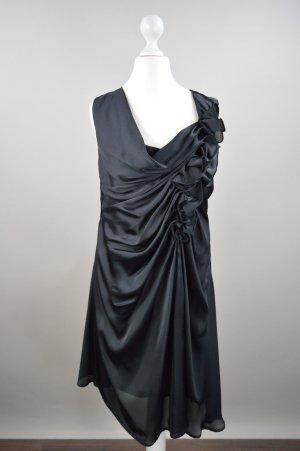 Vila Abendkleid schwarz Größe S