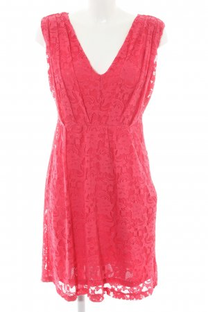 Vila Evening Dress violet romantic style