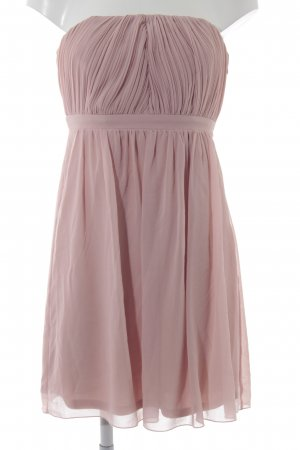 Vila Ball Dress rose-gold-coloured weave pattern casual look