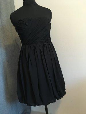 Vila Bandeaujurk zwart Polyester