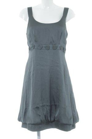 Vila vestido de globo gris oscuro elegante