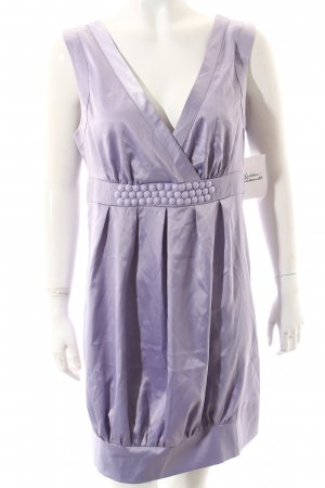 Vila Balloon Dress lilac elegant