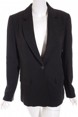 Vila Blazer schwarz Business-Look