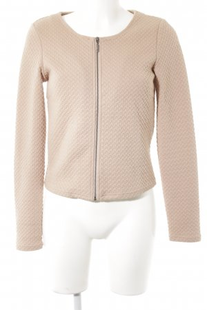 Vila Blouson beige abstract pattern elegant
