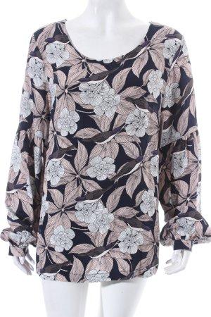 Vila Bluse florales Muster klassischer Stil