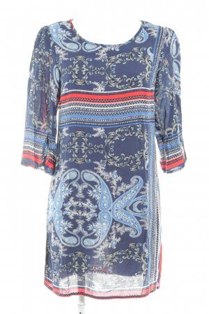 Vila Blouse Dress abstract pattern extravagant style