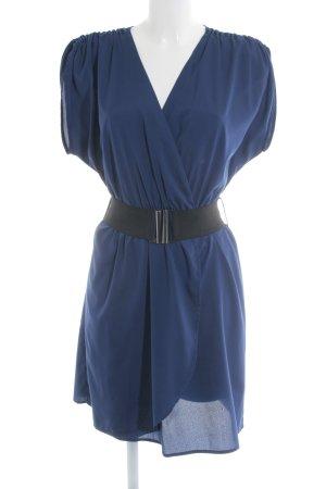 Vila Blusenkleid blau Elegant
