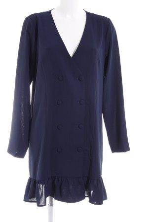 Vila Blusenkleid dunkelblau Elegant
