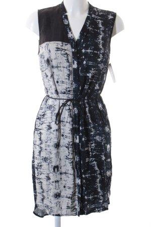 Vila Blusenkleid, luftig und leicht, abstraktes Muster, Gr. S (36)