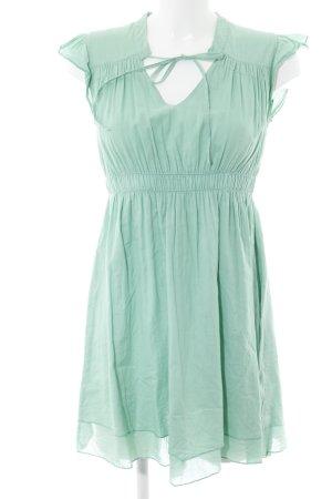 Vila Blusenkleid mint Casual-Look