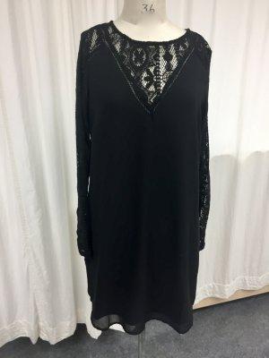 VILA Blusenkleid mit Spitze