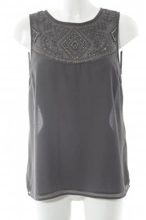 Vila Blouse Top anthracite elegant