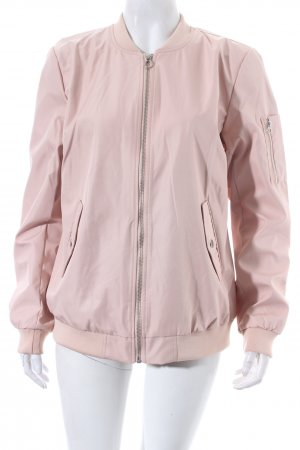 Vila Bomber Jacket pink casual look