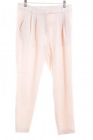 Vila Pleated Trousers nude elegant