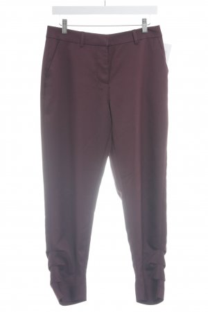 Vila Pleated Trousers purple business style