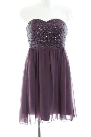 Vila Bustier Dress lilac casual look