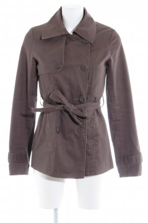 Vila Pea Jacket grey brown street-fashion look