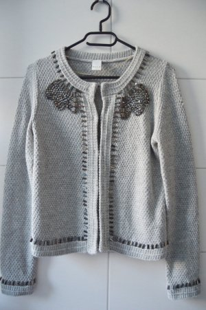 Vila Cardigan Grau XS Lilly Knit