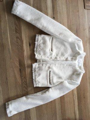 Vila Short Blazer white