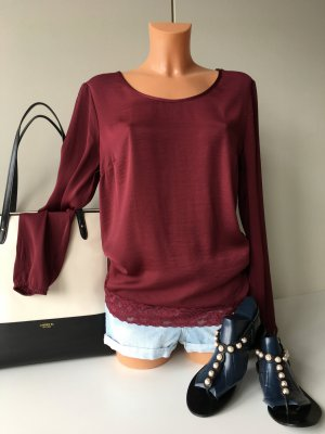 Vila Clothes Feminines Oberteil Bluse Hemd Tunika T-Shirt Gr. M/38-40