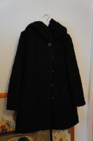 vila clothes winter mantel schwarz M 38 wolle