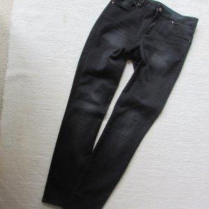 VILA * Coole skinny Jeans * schwarz oilwashed * XL= 40 (42) NEU