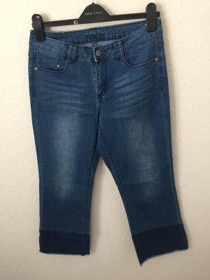 Vila Culotte Jeans Blau