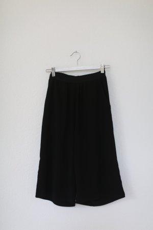 Vila Culotte schwarz Gummizug Gr. M mit Taschen Hose