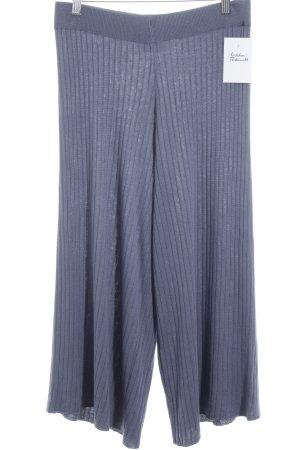 Vila Pantalone culotte blu fiordaliso stile casual