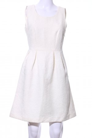 Vila Cut Out Dress natural white casual look