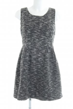 Vila Cut-Out-Kleid schwarz-grau