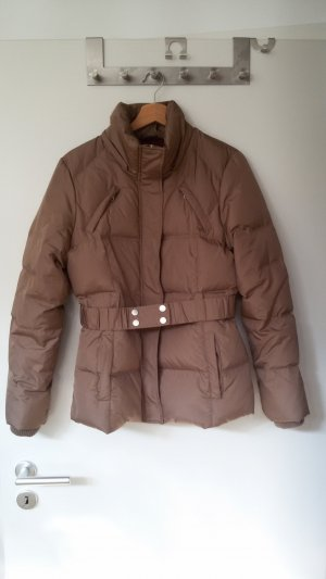 Vila Down Jacket camel-gold-colored mixture fibre
