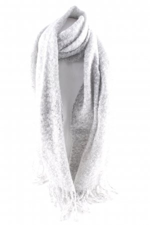 Vila Fringed Scarf light grey casual look