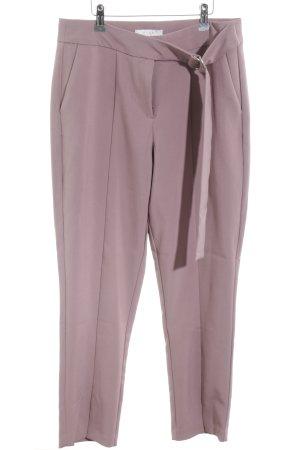 Vila High-Waist Hose pink Business-Look