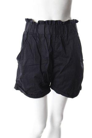 Vila High Waist Shorts schwarz
