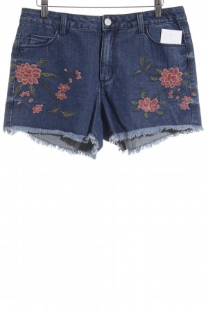 Vila Hot Pants Blumenmuster Romantik-Look