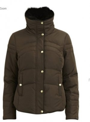 Vila Down Jacket khaki-olive green
