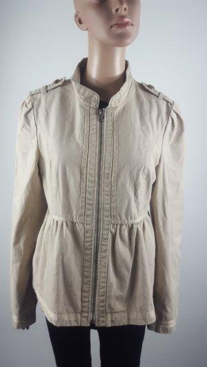 Vila Jaggy Jacket camel Militäry Stil Jacke beige Größe L NEU