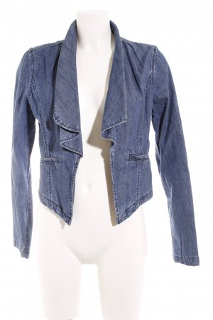 Vila Denim Blazer steel blue casual look