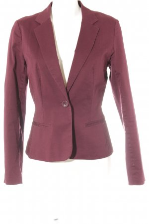 Vila Jerseyblazer brombeerrot Business-Look