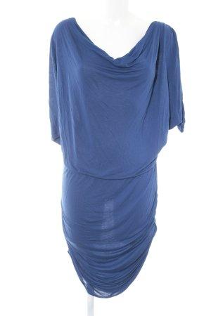 Vila Jerseykleid blau Casual-Look