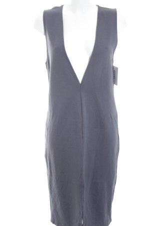 Vila Jerseykleid graublau Elegant